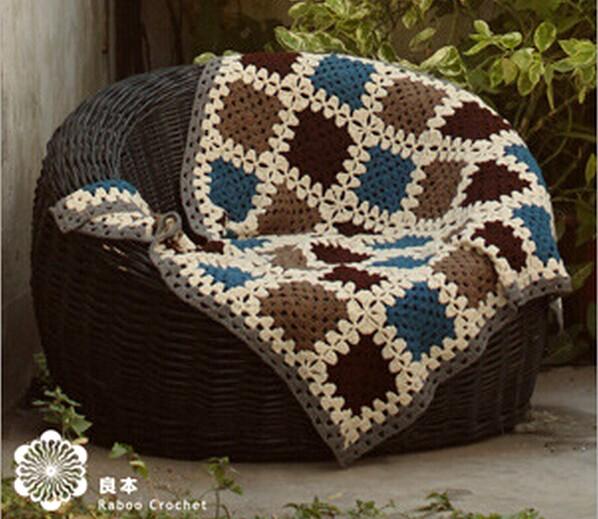 Couvertures pour le canap ou lit crochet et plus for Couverture pour canape