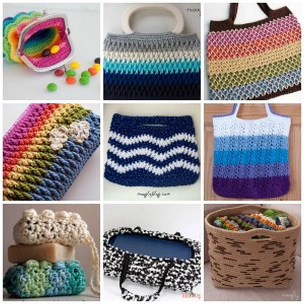 Faire Un Sac à Main Au Crochet : Comment faire un sac au crochet sedgu