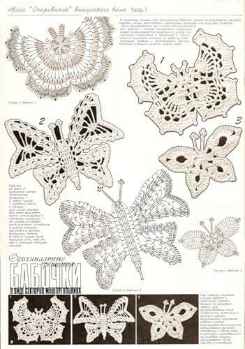 crochet buterflies (23)