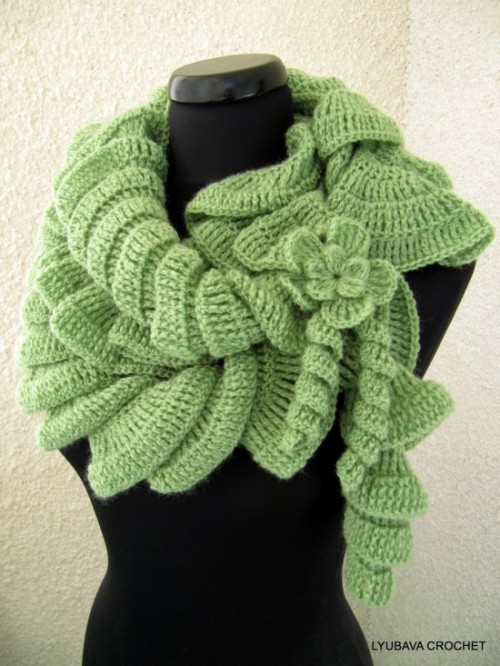 foulards au crochet (6)