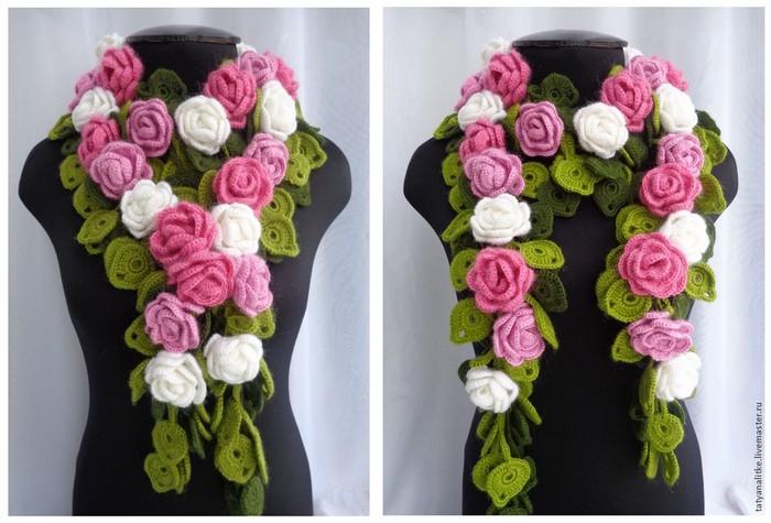 foulard crochet (2)