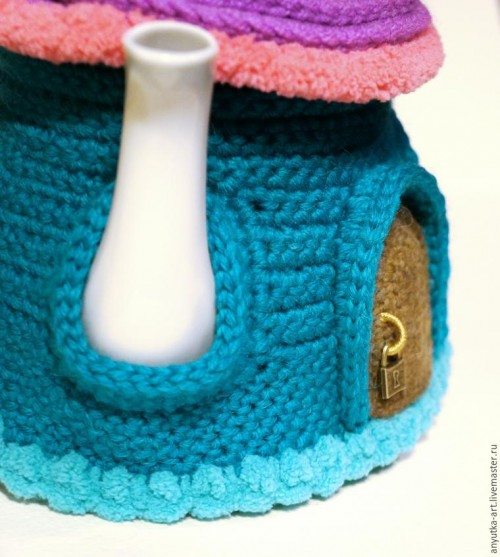 Crocheted Teapot (25)