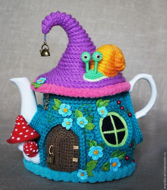 Crocheted Teapot (36)