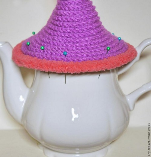 Crocheted Teapot (6)