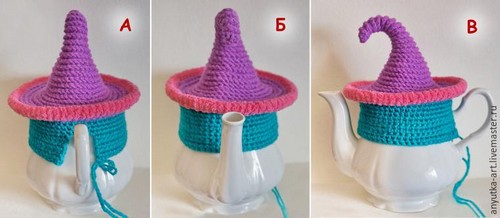 Crocheted Teapot (9)