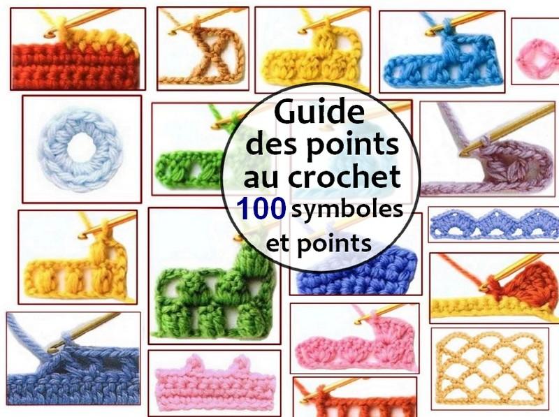 Guide Des Points Au Crochet 100 Symboles Et Points