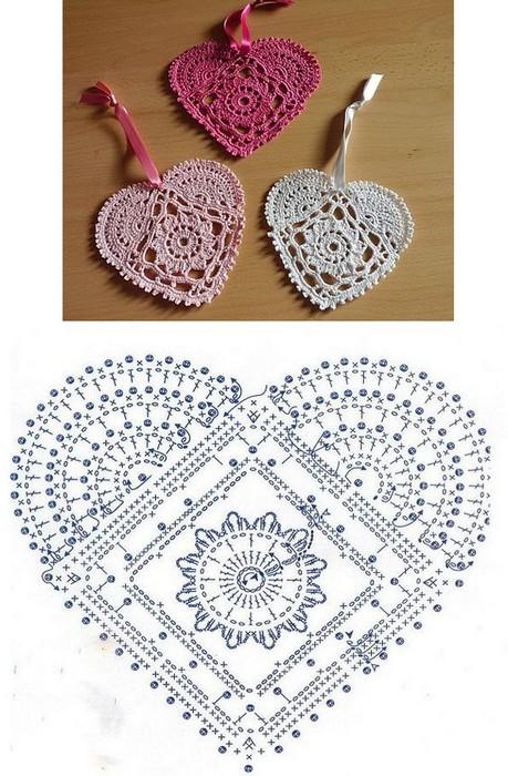 crochet hearts (10)