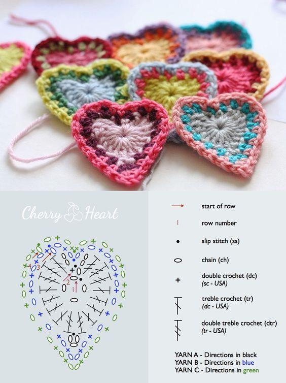 crochet hearts (17)