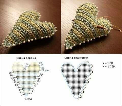 crochet hearts (19)