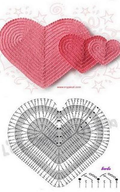 crochet hearts (21)