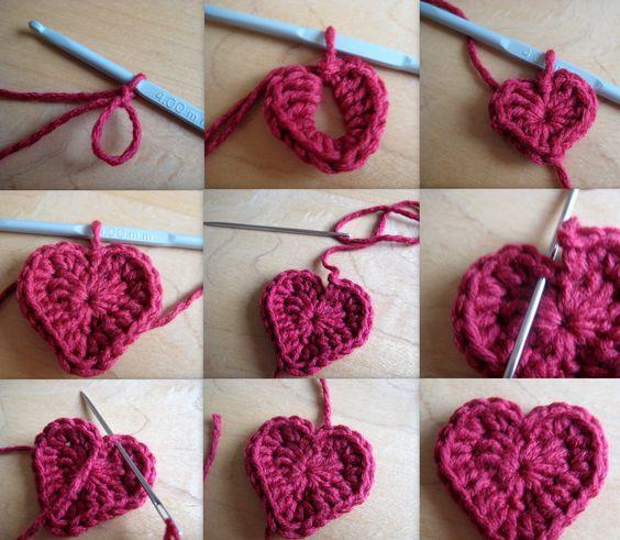 crochet hearts (25)