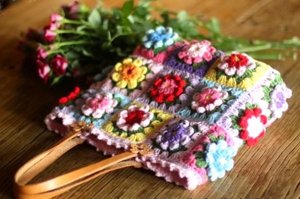crochet sac
