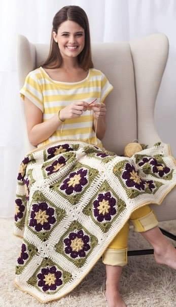crochet square blanket (1)