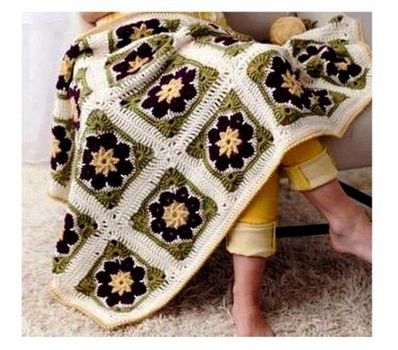 crochet square blanket (12)
