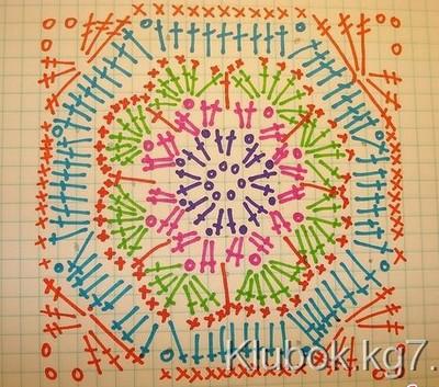crochet square blanket (4)
