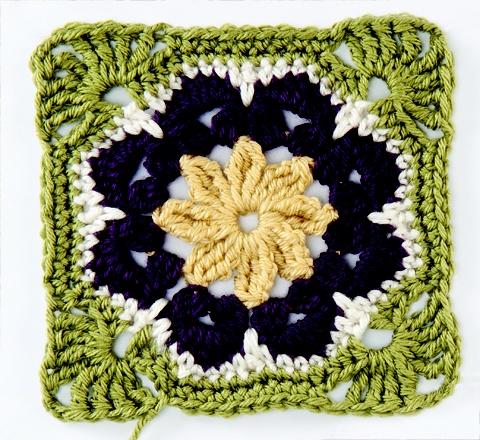 crochet square blanket (5)