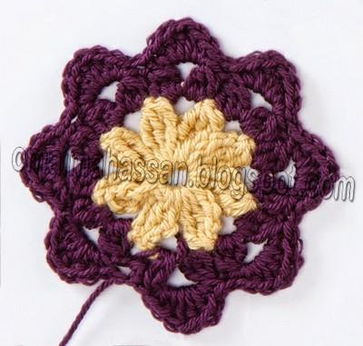 crochet square blanket (7)