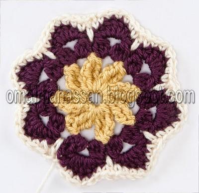 crochet square blanket (8)
