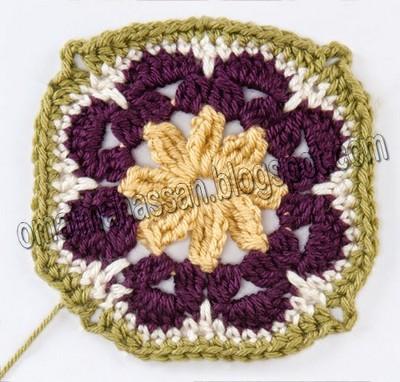 crochet square blanket (9)