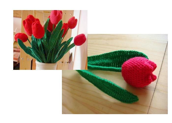 crochet tulips (2)