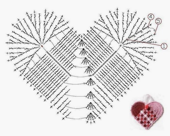 hearts crochet (2)