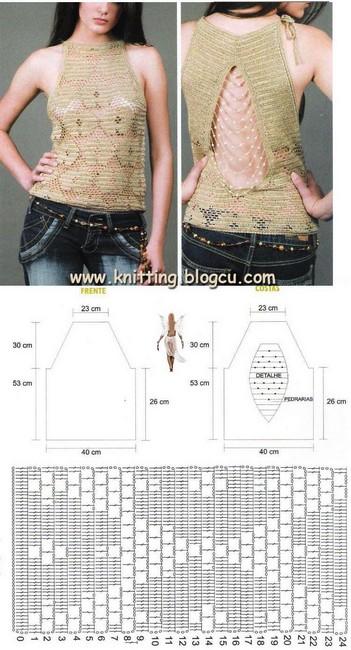 croche-blusa-crochet-blouse