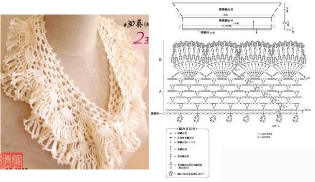 crochet bufandas-tour de cou (12)