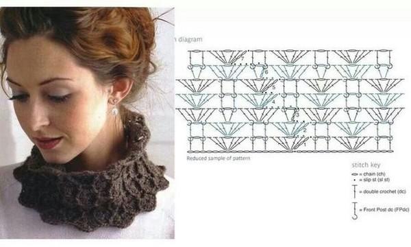 crochet bufandas-tour de cou (14)