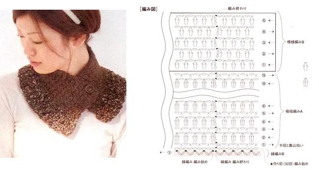 crochet bufandas-tour de cou (19)