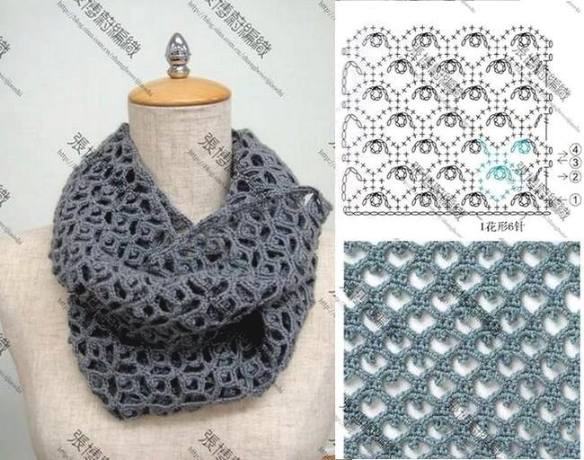 crochet bufandas-tour de cou (22)