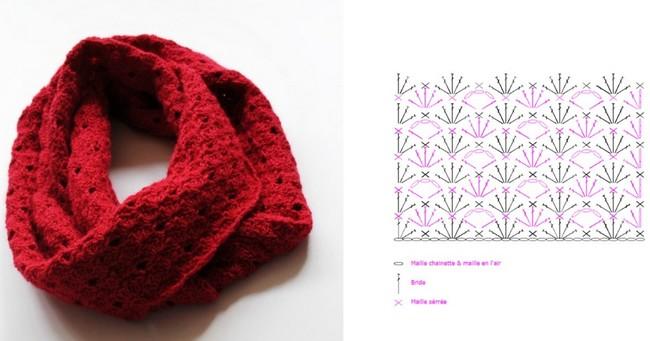 crochet bufandas-tour de cou (26)