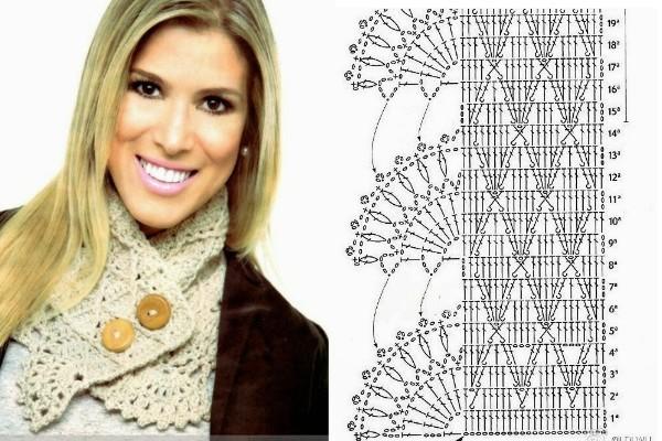 crochet bufandas-tour de cou (4)