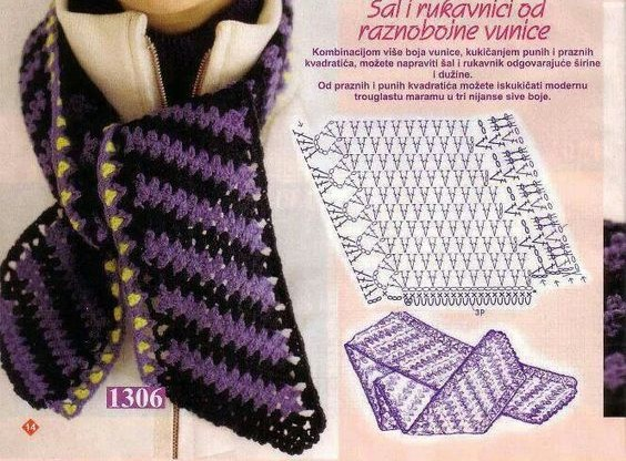 crochet bufandas-tour de cou (5)