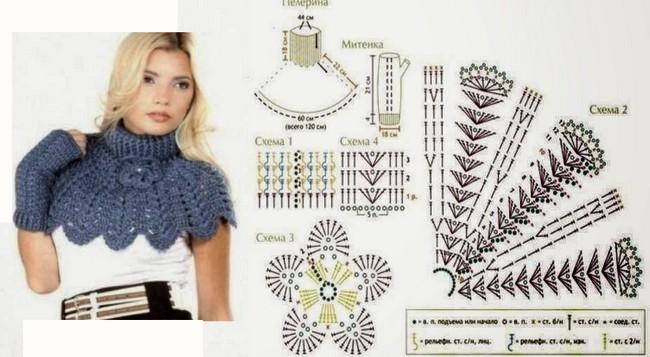 crochet bufandas-tour de cou (6)