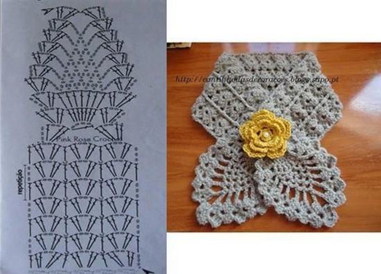 crochet bufandas-tour de cou (9)