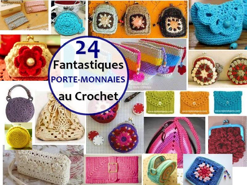 monedero crochet FRANÇA