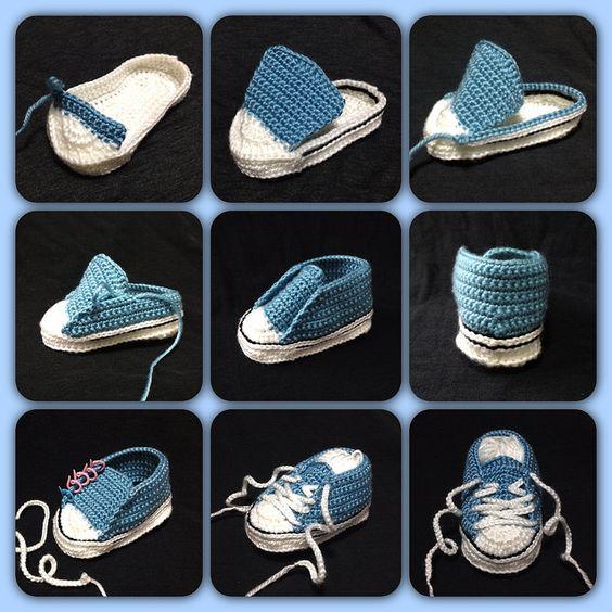 crochet tuto slippers (13)