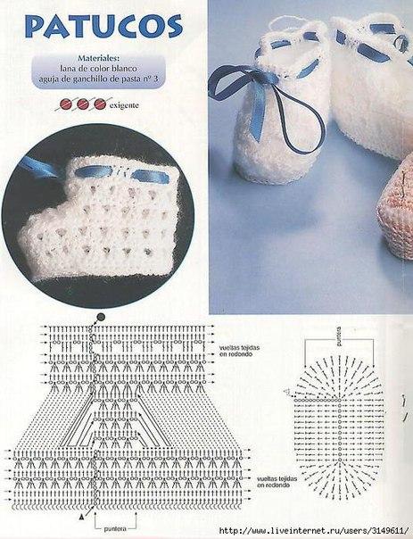 crochet tuto slippers (2)