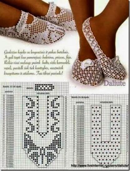 crochet tuto slippers (24)