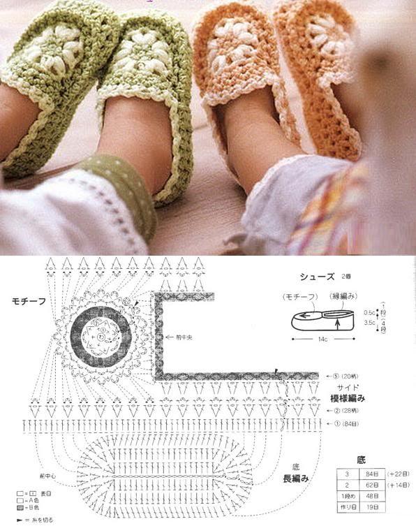 crochet tuto slippers (29)
