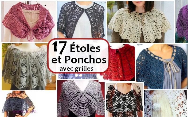 ponchos etoiles FRANCES