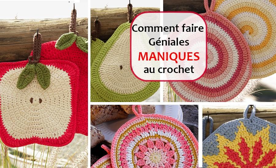 MANIQUES AU crochet FRANCES