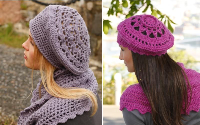 boinas crochet