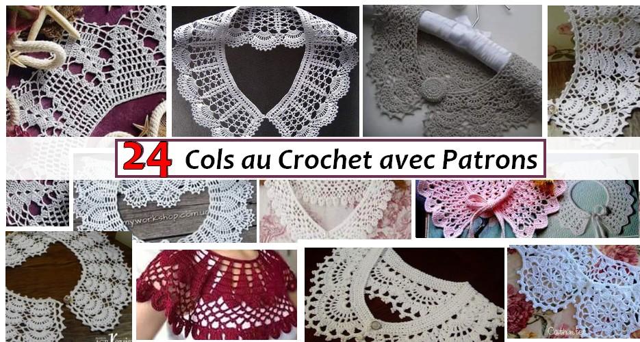 cols crochet frances