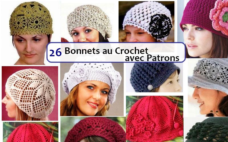 gorros crochet. franca
