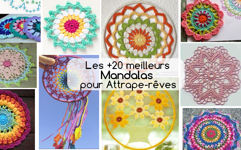 mandalas crochet atrapes reves frances