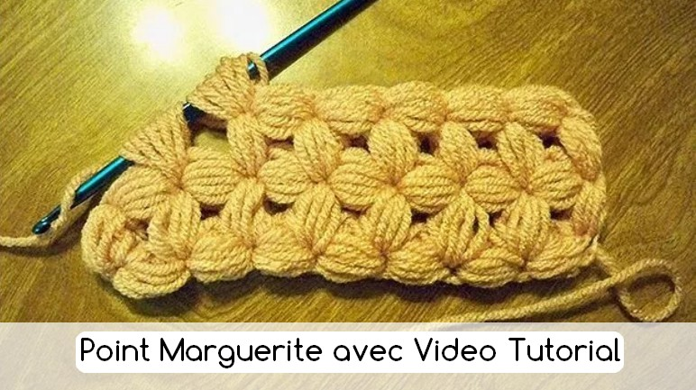 punto marguerite crochet