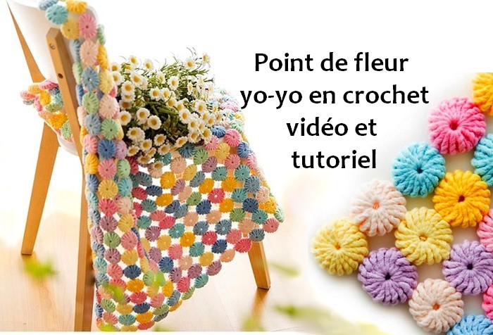punto yo-yo crochet franca