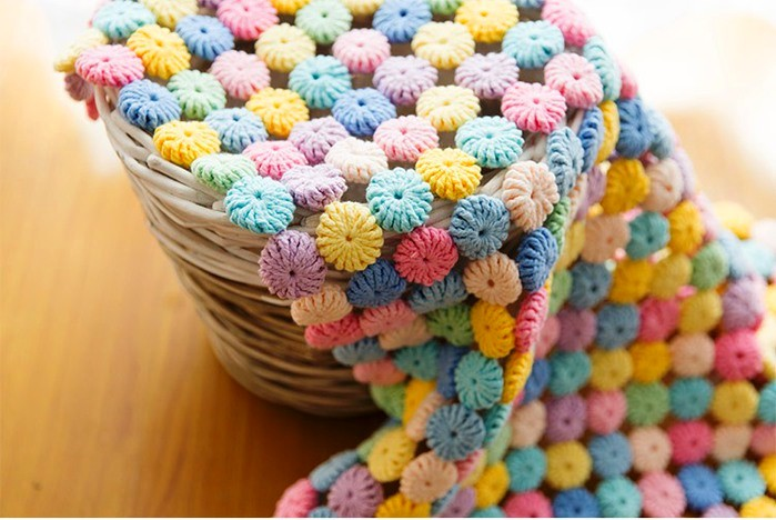 Bien-aimé Point de fleur yo-yo en crochet / vidéo et tutoriel - Crochet et  CU16