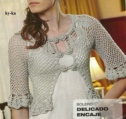bolero crochet elegant (18)